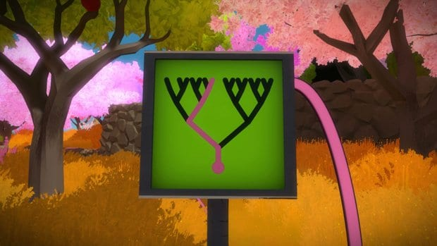 the witness pink tree 3
