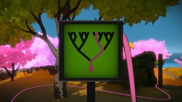 the witness pink tree 4