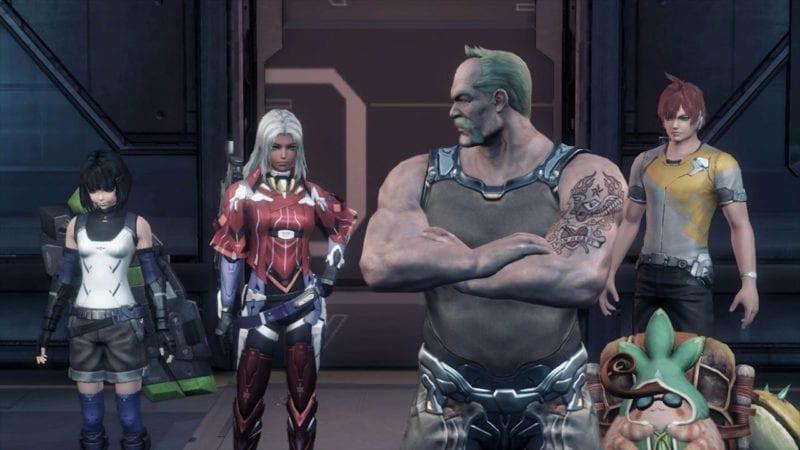 Xenoblade Chronicles X party