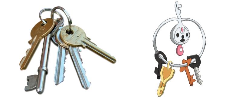 09 Key Chain-Klefki