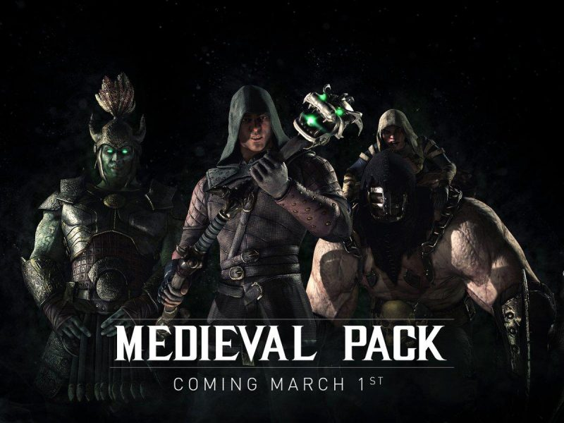 Mortal Kombat free Medieval skin pack