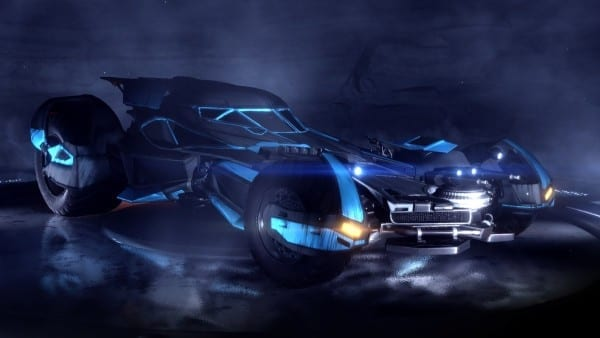 Rocket League, Batmobile, Batman vs. Superman, DLC