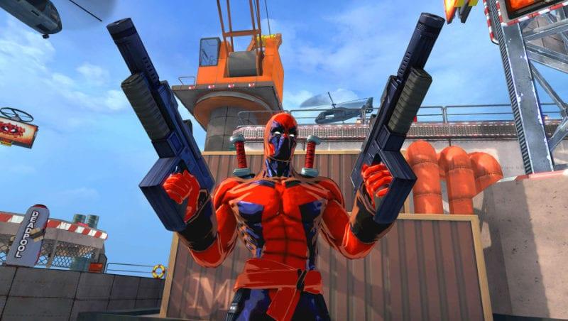 Deadpool Spider Man Shattered Dimensions