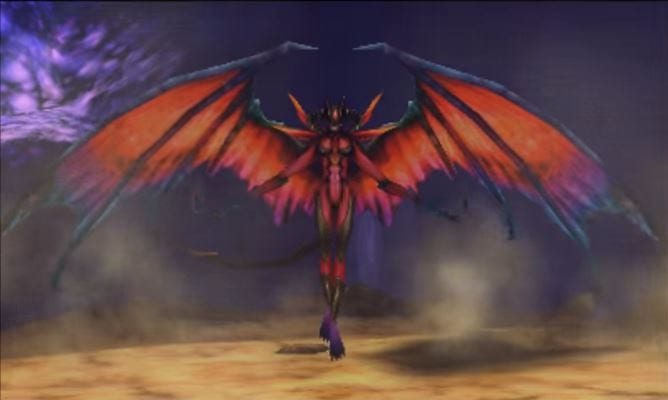 Final Fantasy Explorers, Diabolos, eidolon