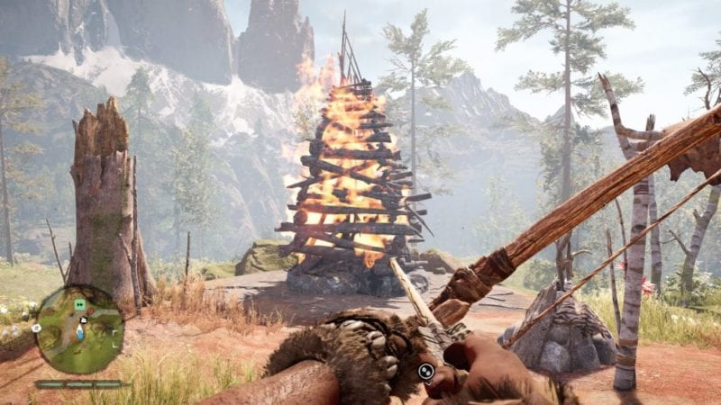bonfires far cry primal fire animal fat