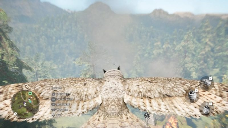 Far Cry Primal: How to Tame and Use the Owl