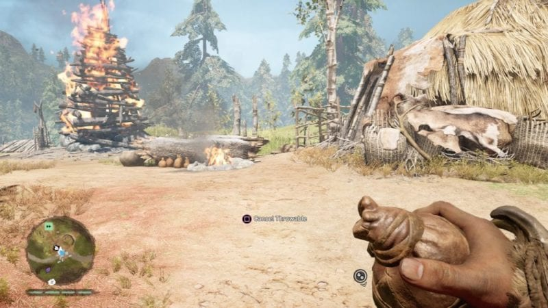Far Cry Primal How To Craft And Throw Bombs