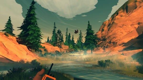 Firewatch, PlayStation 4, screenshots, 1080p, beautiful, game