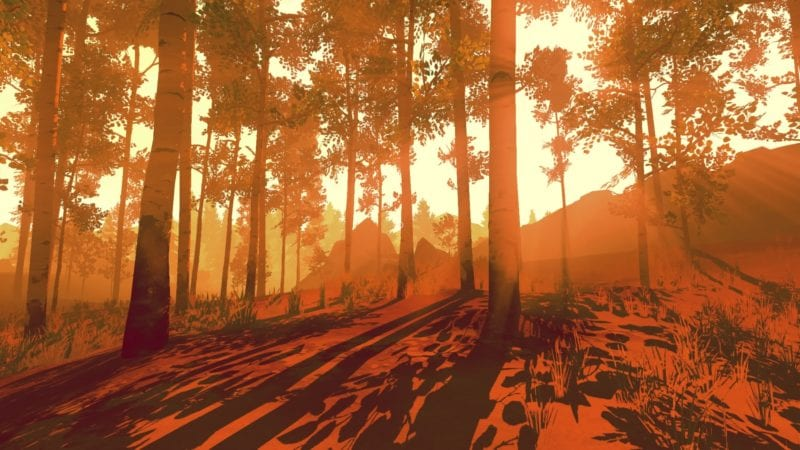 prettiest, Firewatch, PlayStation 4, review