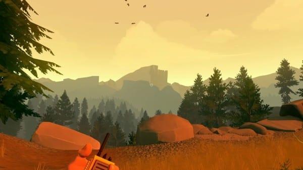 Firewatch, PlayStation 4, screenshots, 1080p, beautiful