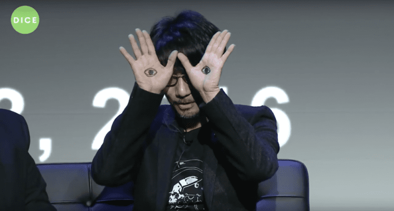hideo kojima del toro eye hands dice 2016
