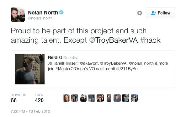 nolan north twitter tweet