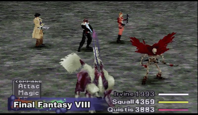 Final Fantasy VIII PlayStation