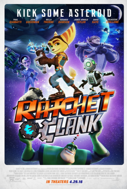 Ratchet and Clank, Movie, Poster