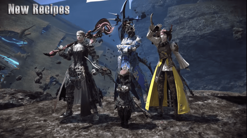 ff xiv new recipes