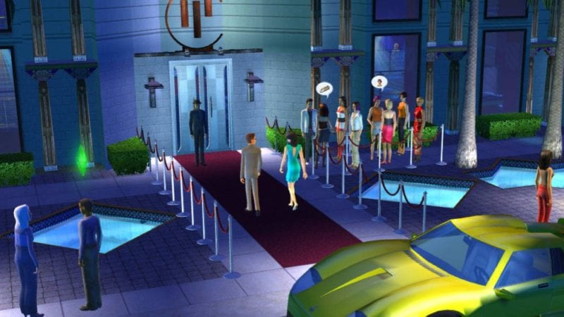 The Sims 2 Nightlife screen