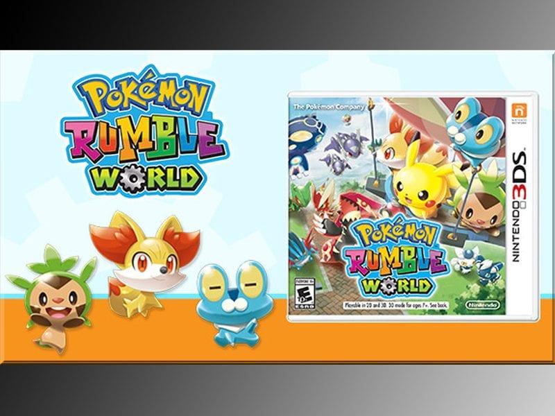 Pokemon Rumble World, retail