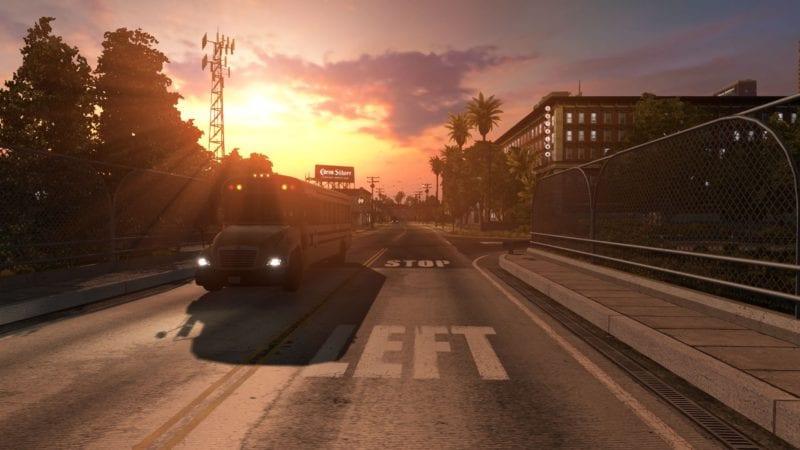 american truck simulator how to rest sleep