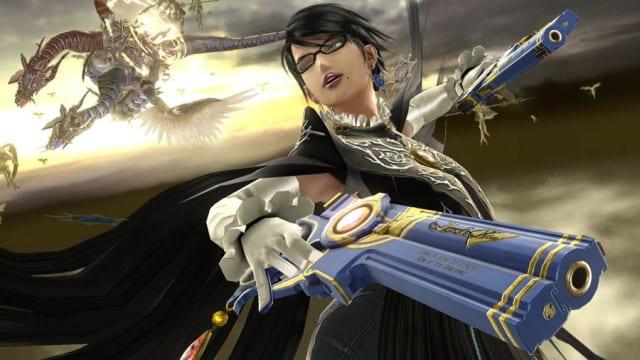 Bayonetta Smash