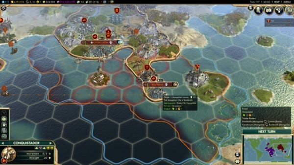 civilization v city limits