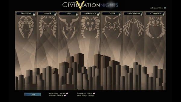 civilization v nights