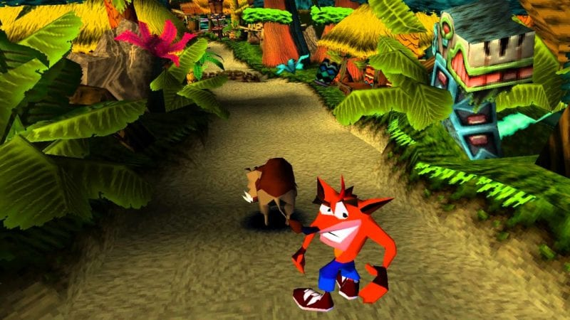 8 - Crash Bandicoot