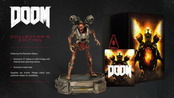 Doom, bethesda, release date, collector's edition, price, statue
