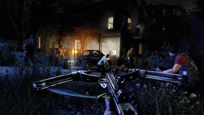 dying light the following crossbow