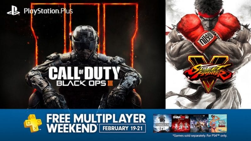 free weekend ps4