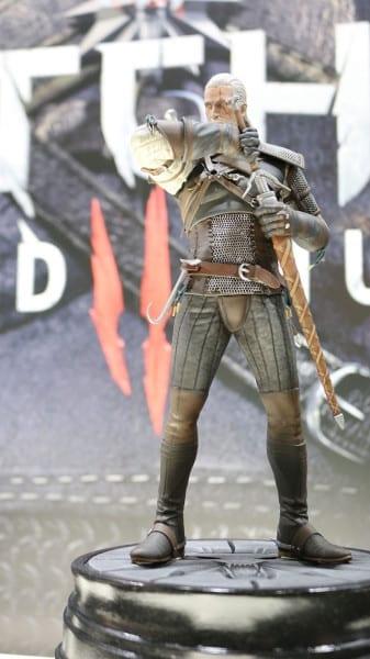 witcher 3, geralt , figure, dark horse, collectibel