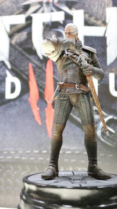 The Witcher 3 Geralt figure