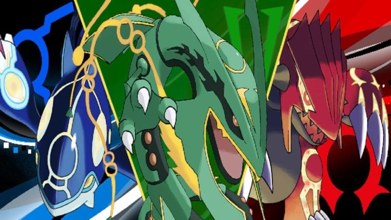 kyogre and rayquaza