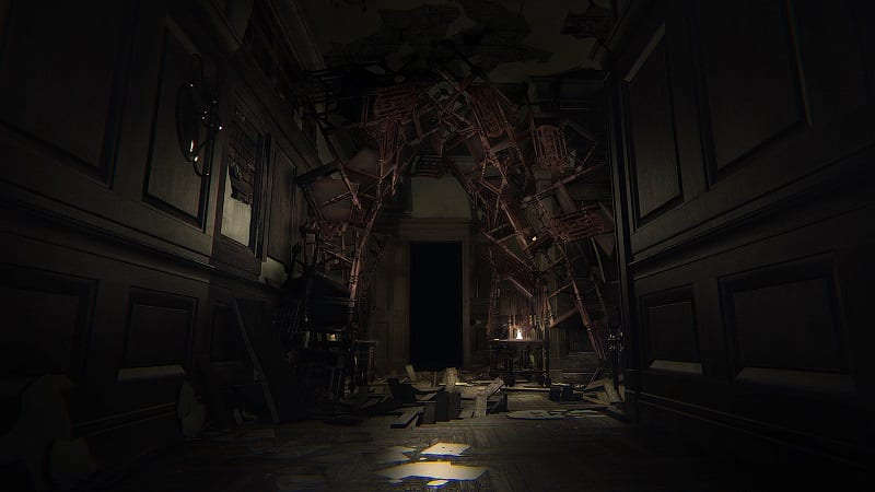 layers of fear furniture arch