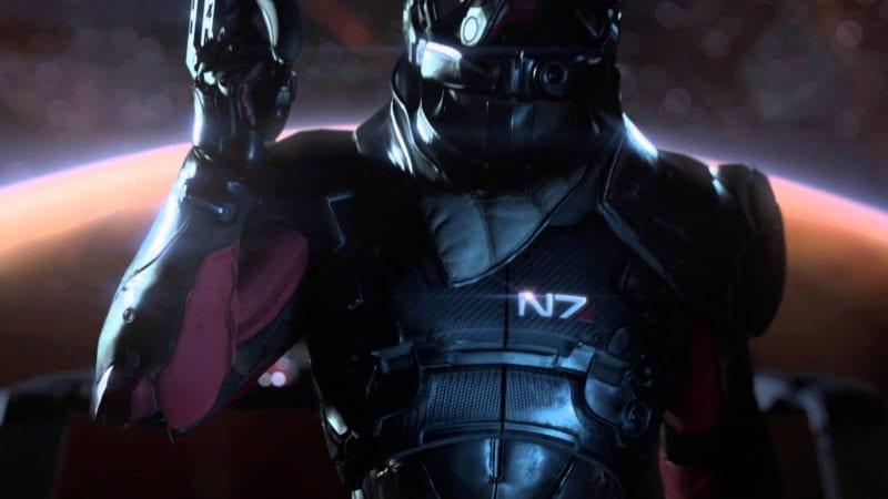 Mass Effect andromeda, writer, n7
