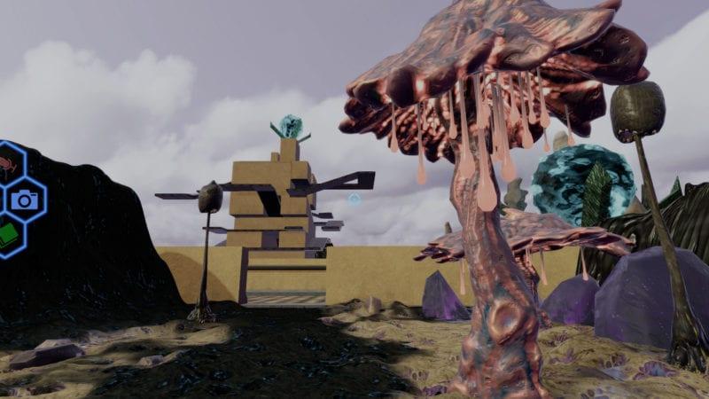 monumental alien temple