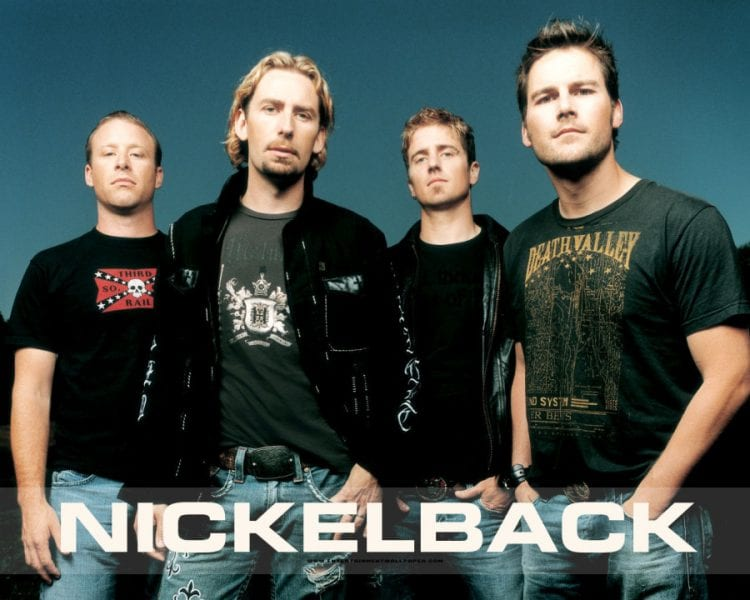 nickelback game poster