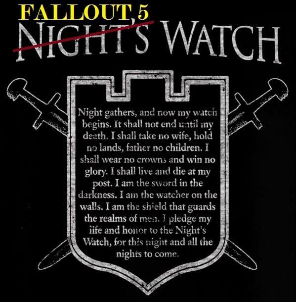 Fallout 5 Watch