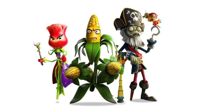 pvz garden warfare 2 new characters
