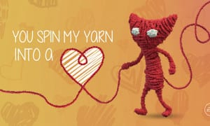 Yarny valentine's day
