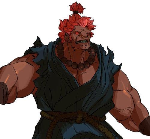 Street Fighter Akuma
