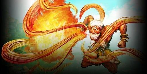 Street Fighter Dhalsim