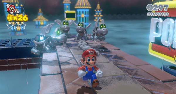 """You have to understand, Mario; we can't go back to stripping."""