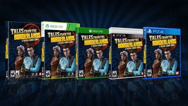 tales from the borderlands, physical copy, release, telltale games