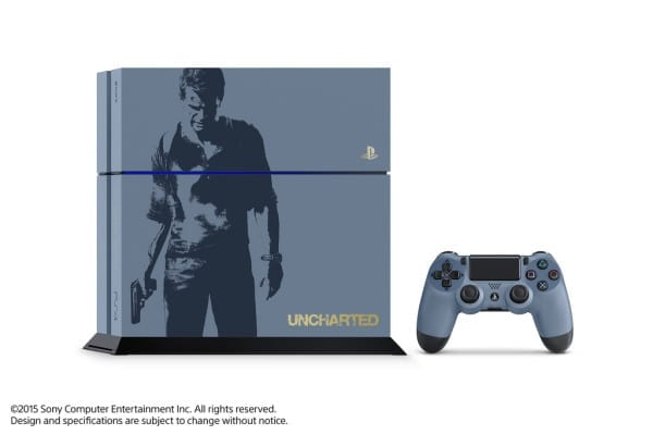 Uncharted 4 PS4 gets a Drakeover