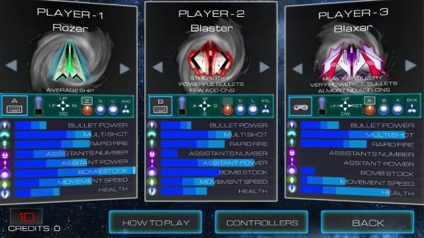 Vortex Attack Co-Op Play