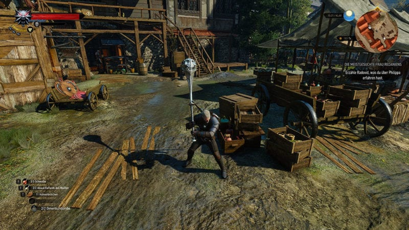 Witcher 3 Mod – The Enhancement System
