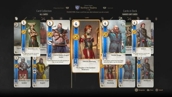 Witcher 3, Mod, Gwent Deluxe