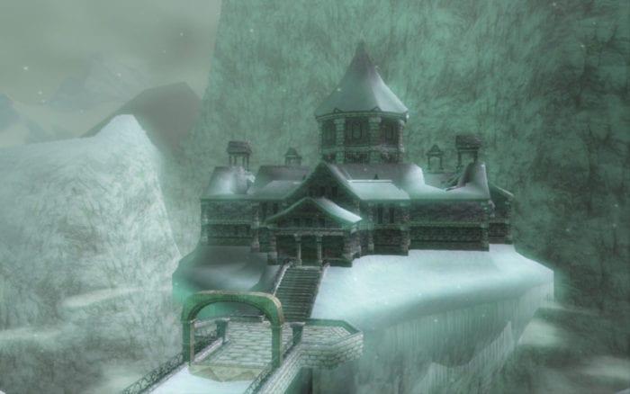 Legend of Zelda Dungeons Snowpeak Ruins