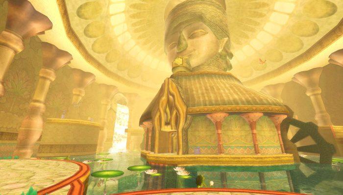 Legend of Zelda Dungeons Ancient Cistern