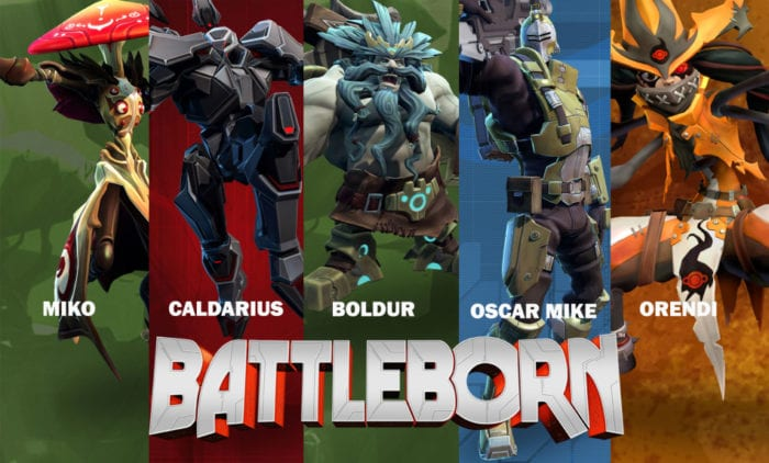 Battle born characters